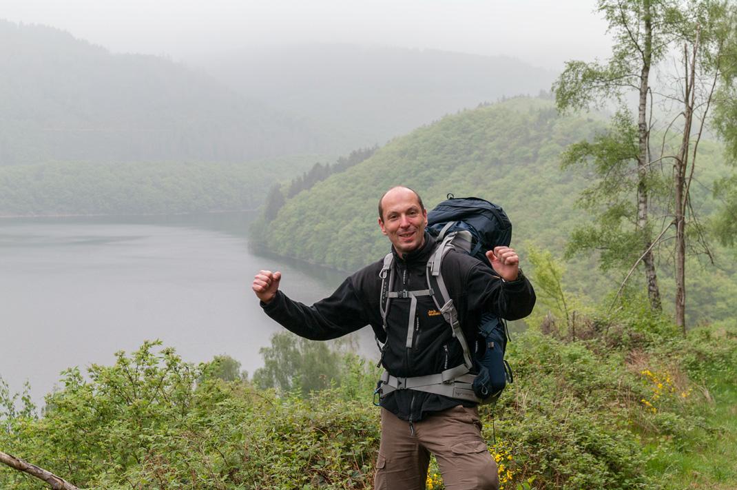 Eifel Wandern unterwegs auf dem Wildnis Trail