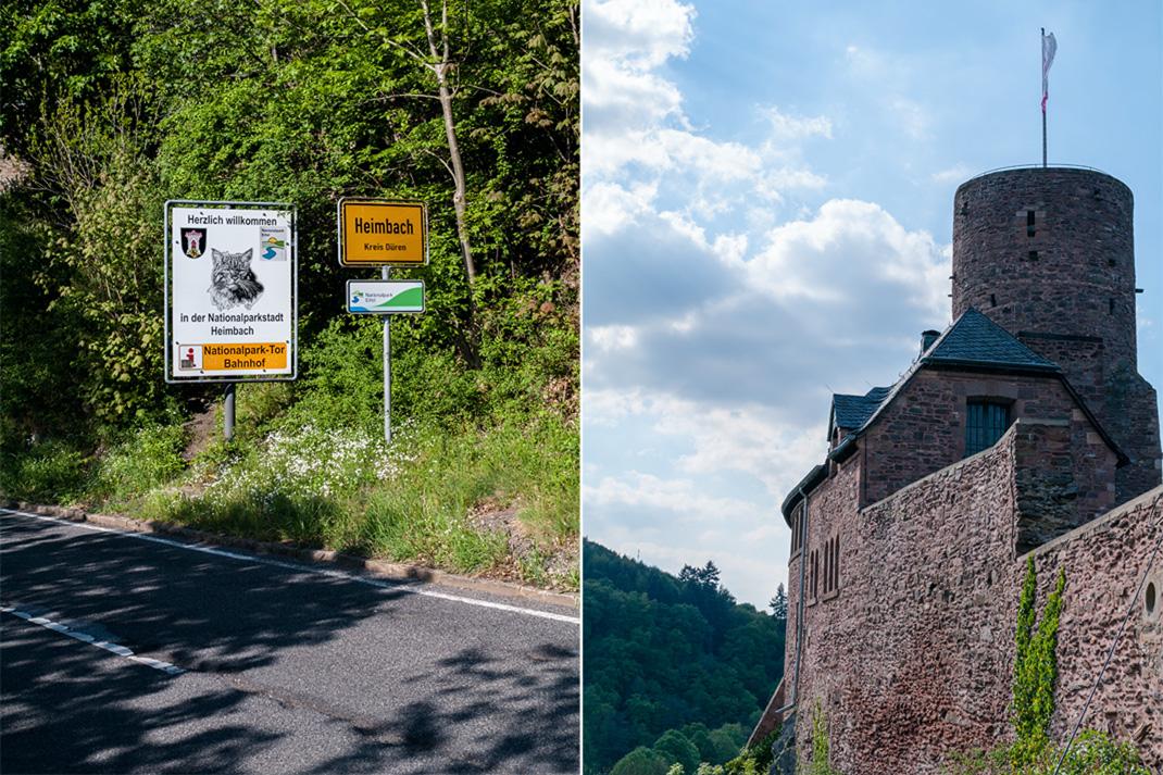 Wildnis Trail Eifel dritte Etappe im Nationalpark Heimbach