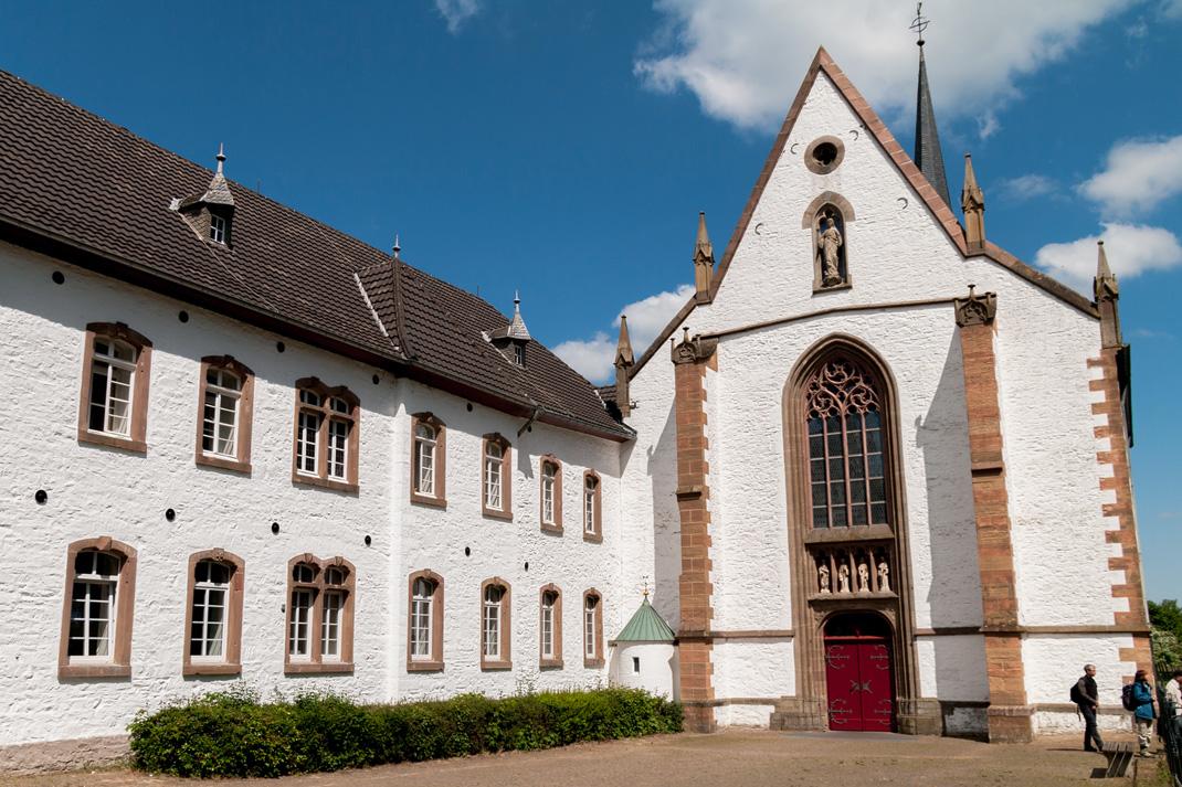 Wildnis Trail Eifel Kloster Mariawald Kirche