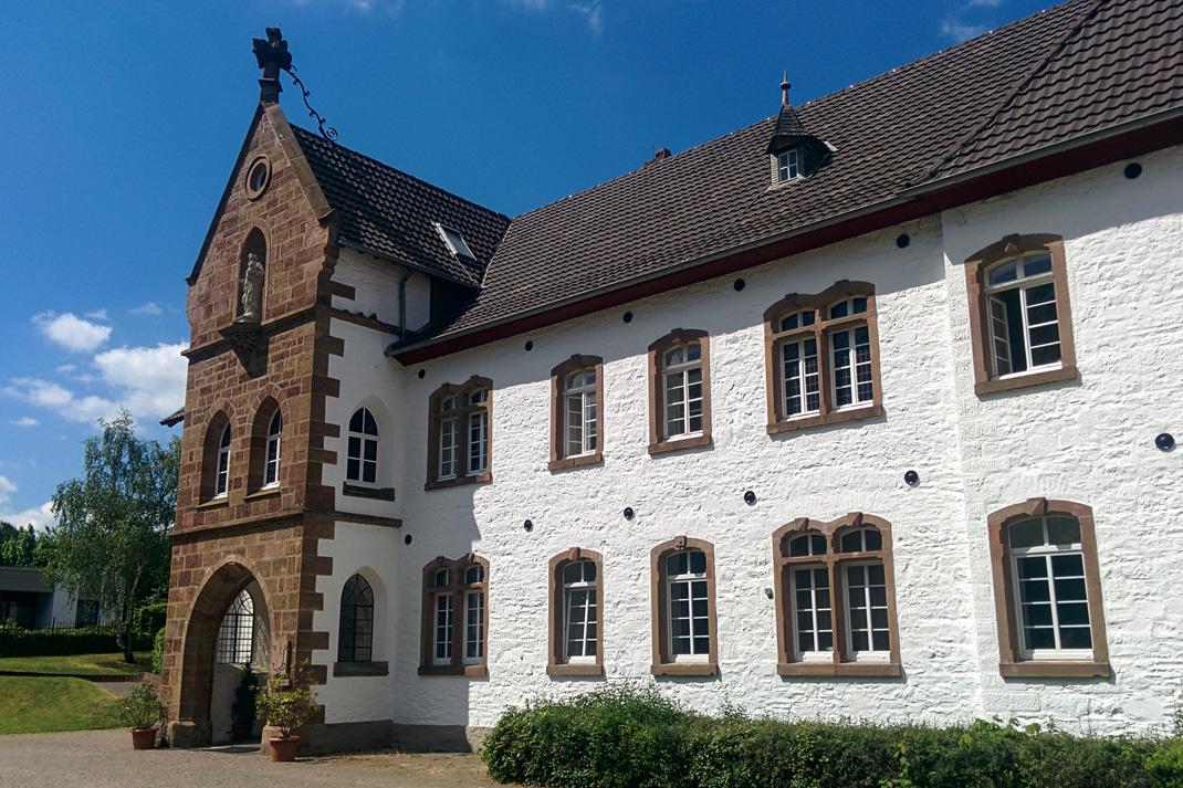 Wildnis Trail Eifel Kloster Mariawald