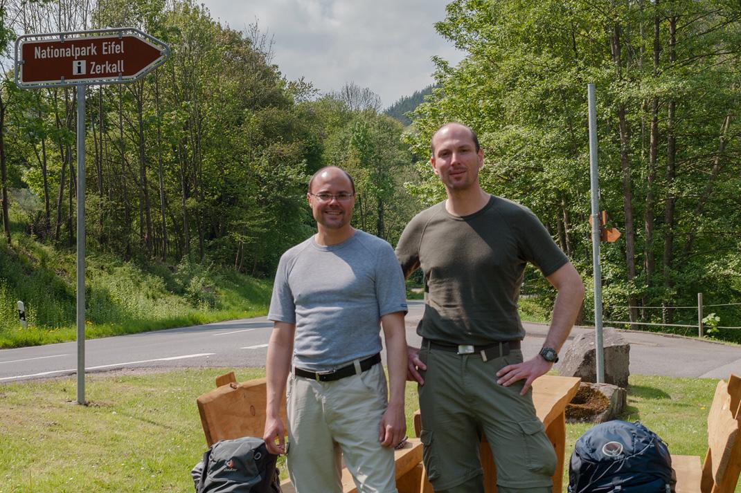 Wildnis Trail Eifel Nationalpark Infopunkt Zerkall