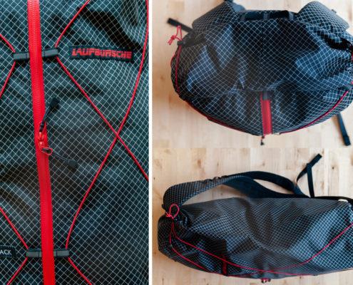 PACKsack von Laufbursche Gear ein Ultralight Outdoor Equipment