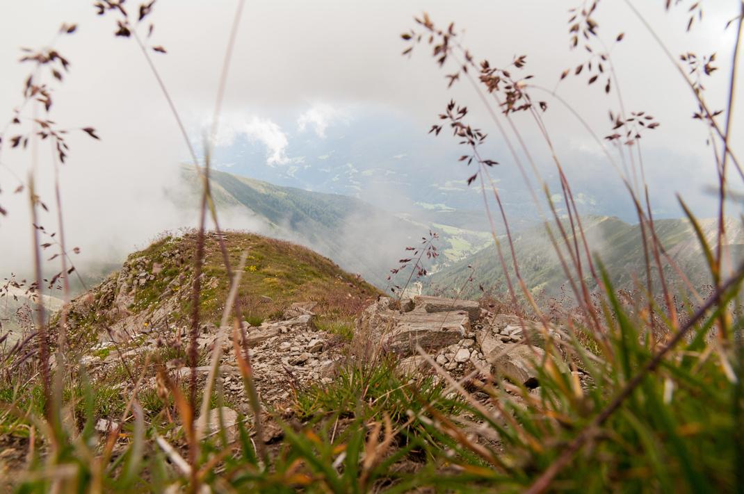 Wolken ziehen um die Kempspitze
