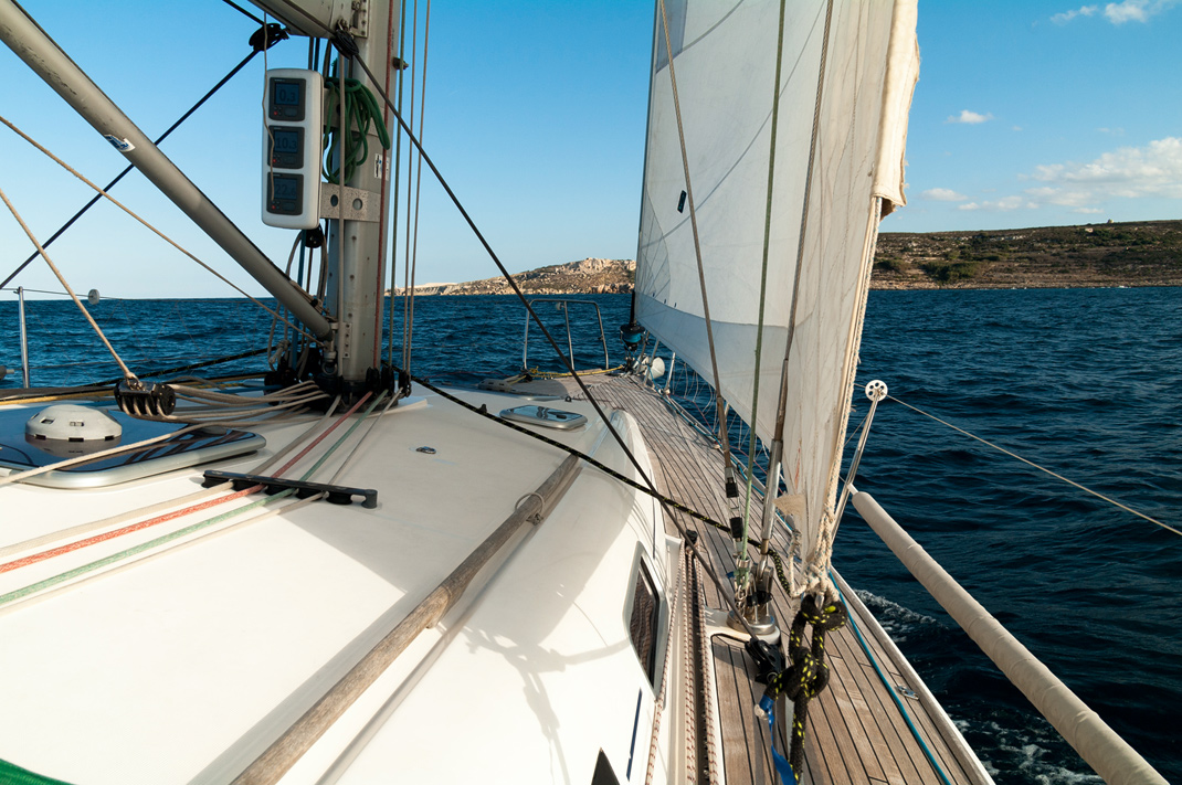 Segeln Malta von Valletta nach Mellieha