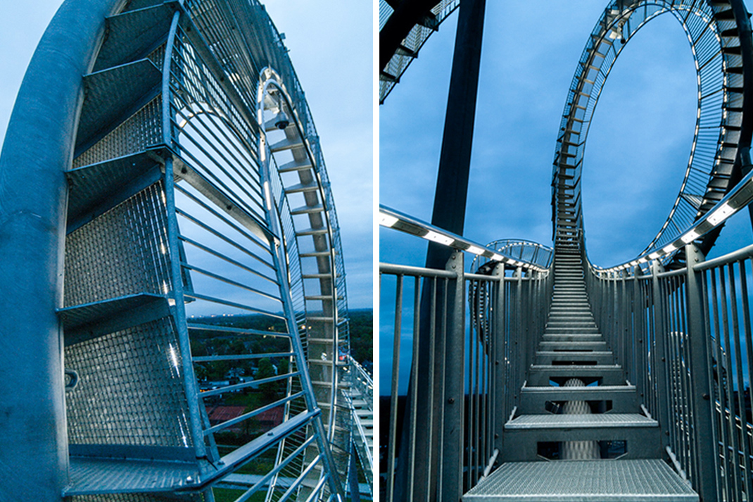 Tiger and Turtle – Magic Mountain Landmarke in Duisburg