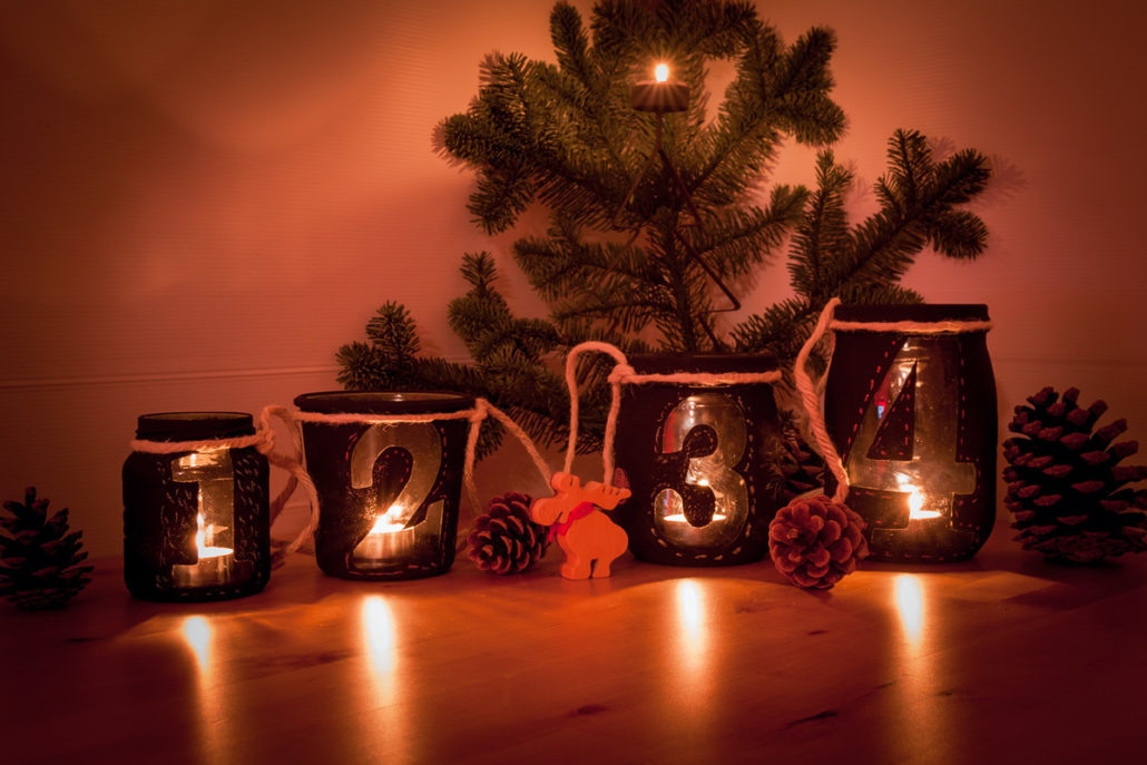 Adventskranz Alternative, Do it yourself; DIY Projekt