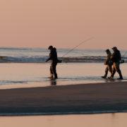 Foto Adventskalender, Angler, Sonnenuntergang, Nordsee, Dänemark