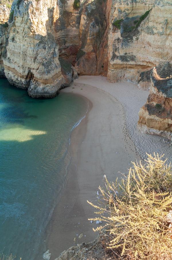 Foto Adventskalender,Praia da Dona Ana Algarve, Algarve, Portugal