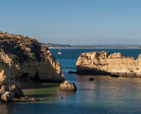 Foto Adventskalender,Praia Dona Ana, Algarve, Portugal