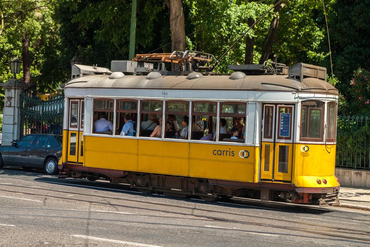 Foto Adventskalender, Straßenbahn Lissabon, Eléctricos de Lisboa, Portugal