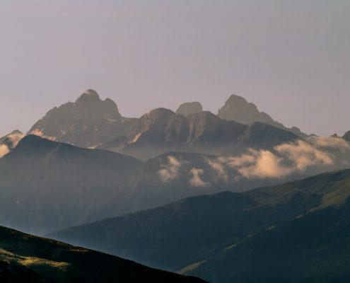 Foto Adventskalender, Sonnenaufgang, Berge, Tirol, Italien