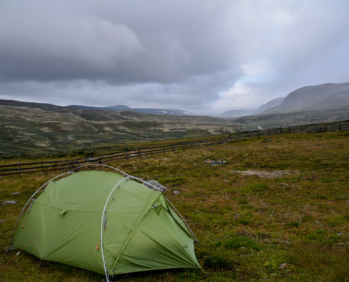Foto Adventskalender, Trekking, Dovrefjell National Park, Norwegen, Camping Outside