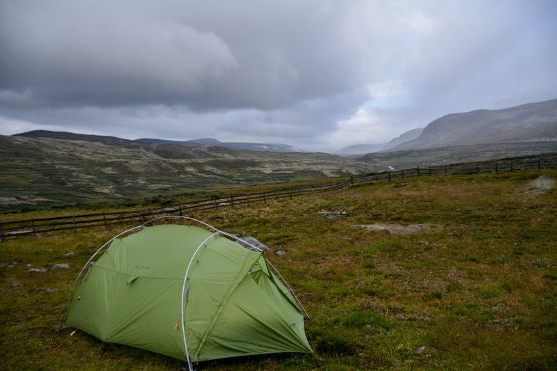 Foto Adventskalender, Trekking, Dovrefjell National Park, Norwegen, Camping Outside