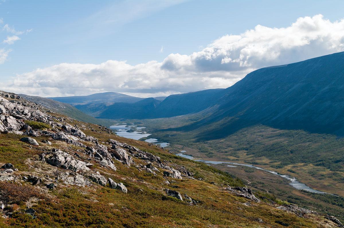 Foto Adventskalender, Trekking, Dovrefjell National Park, Norwegen, Schlucht