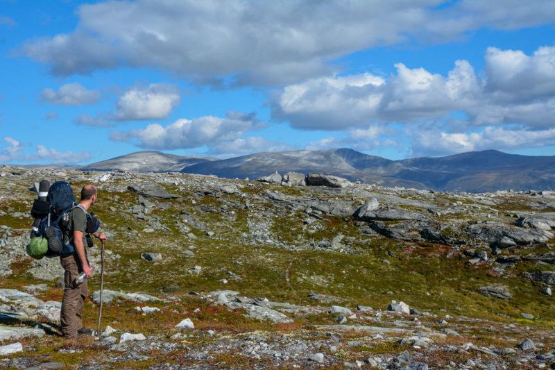 Foto Adventskalender, Trekking, Dovrefjell National Park, Norwegen, Felskamm