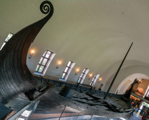 Foto Adventskalender, Oslo, Wikingermuseum, Wikingerschiff, Norwegen