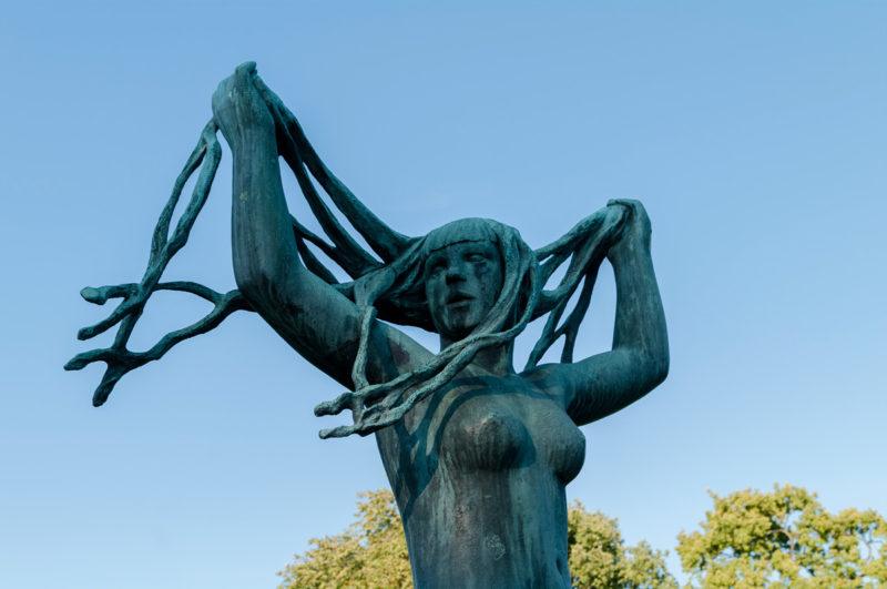 Adventskalender,Vigeland-Skulpturenpark, Vigelandpark, Frognerpark, Skulpturenpark, Oslo, Norwegen