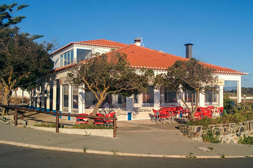 Restaurant, Azenha do Mar, Portugal