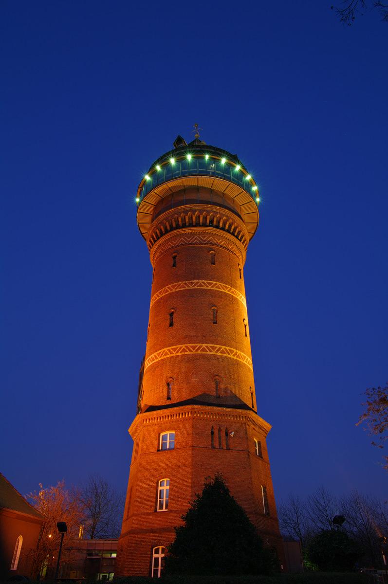 Aquarius Wasserturm in Mülheim an der Ruhr (Styrum)
