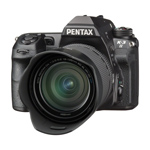 Pentax K-3II Gehäuse (24 Megapixel, 8 cm (3,2 Zoll) Display, Live-view, Full HD, GPS unit, Pixelshift)