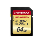 Transcend Speicherkarte 64GB Ultimate 4K