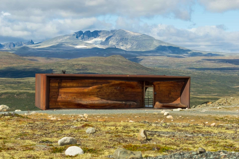 Snohetta Aussichtspunkt Norwegen